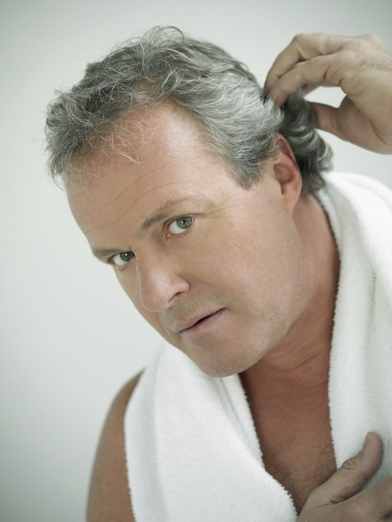 Why Stress And Genetics Are The Number One Causes For Gray Hair In Men