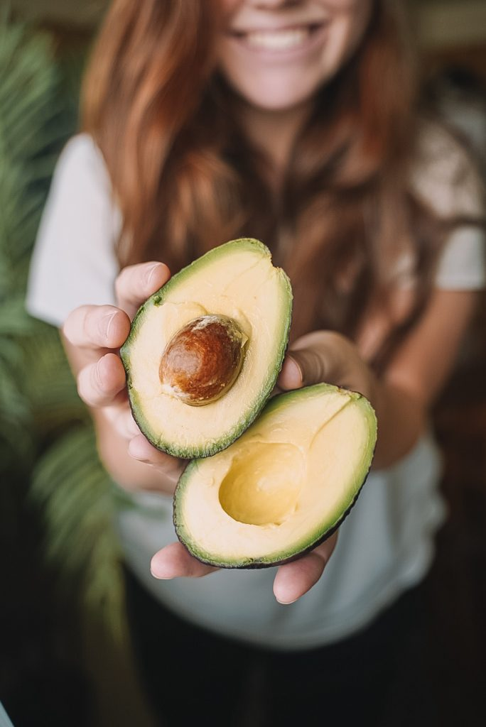 Avocado promotes the growth of hair.