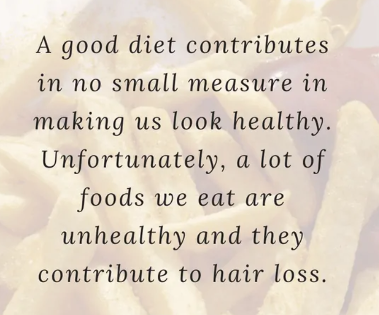 Healthy Diet to Prevent Hair Loss