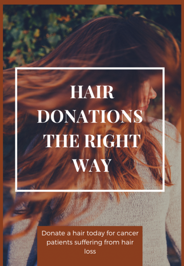 Hair Donations – Doing it The Right Way