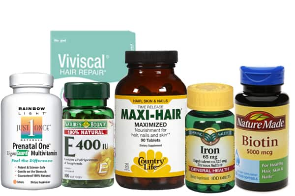 to grow hair on forehead naturally with vitamins