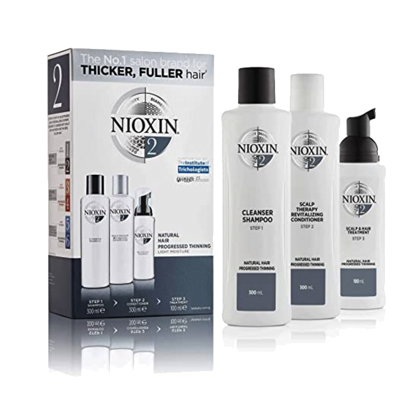 Nioxin Full Size System Kits 2 4 6 3 Pc Hair Loss Shampoo Conditioner Scalp Treatment - GD Details